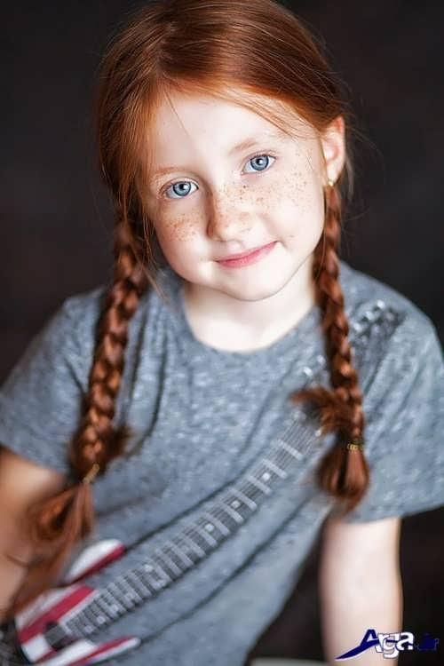 مدل بستن موی دختر بچه ها