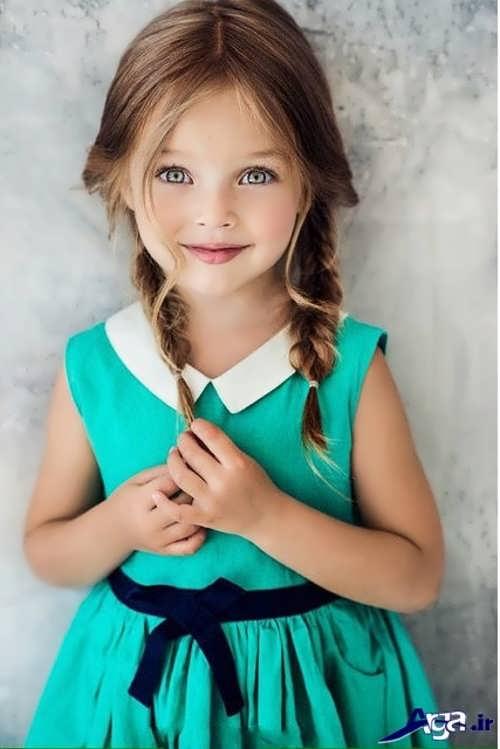 مدل بستن موهای کودکان با روش های مختلف و جالب