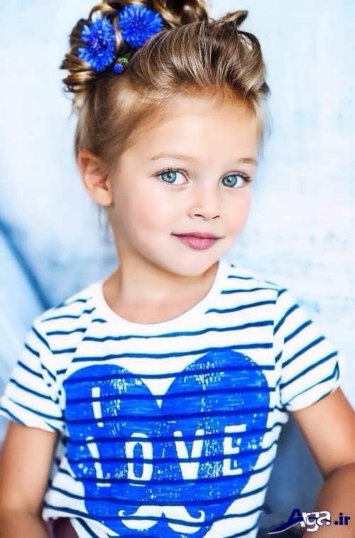 انواع روش های مختلف و زیبا برای بستن موی کودکان