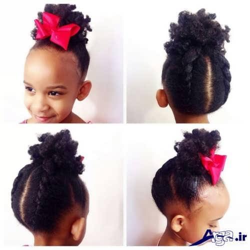 مدل بستن موی دختر بچه ها با روش های زیبا