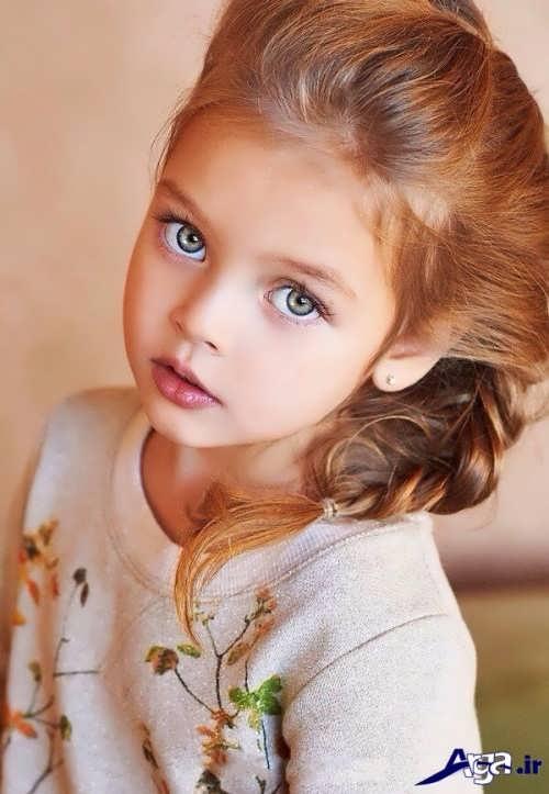 مدل زیبا و متفاوت بستن موی کودکان دختر