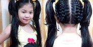 مدل بستن موی دختر بچه ها با روش های خلاقانه و زیبا
