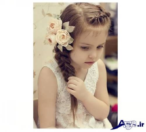 مدل های زیبا و شیک بستن موهای کودکان در منزل