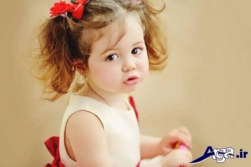 مدل های بستن مو برای دختربچه ها