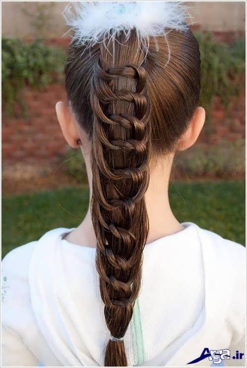 انواع روش های زیبا و متفاوت برای بستن موی کودکان