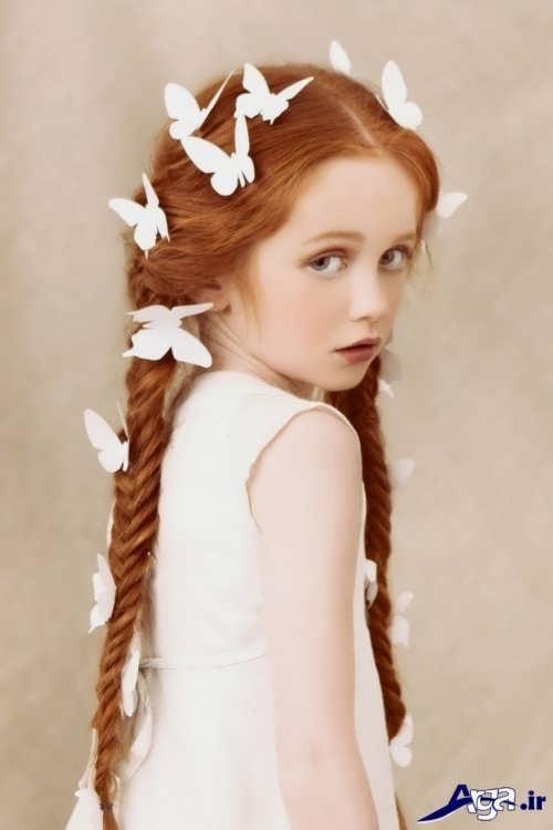 انواع روش های مختلف برای بستن موی دختر بچه ها