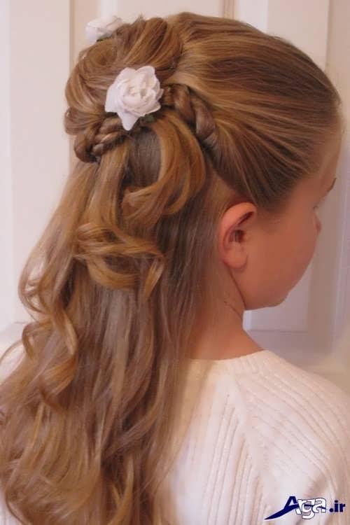 انواع مدل های بستن موی دختر بچه ها