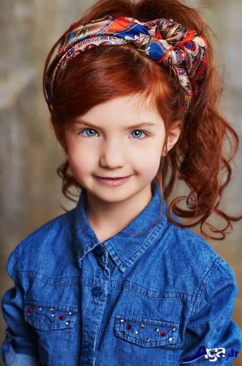 مدل بستن موی دختر بچه ها با روش های مختلف و زیبا
