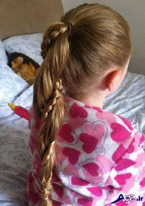 مدل بستن موی کودکان دختر