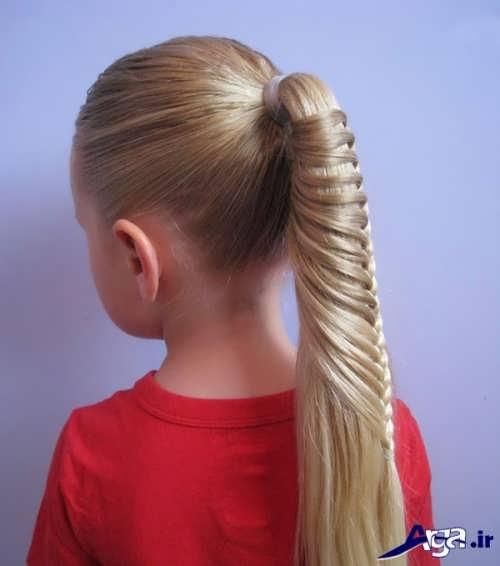 ایده هایی برای بستن موی کودکان دختر
