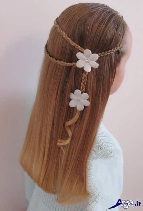 انواع روش های جدید برای بستن موی کودکان دختر