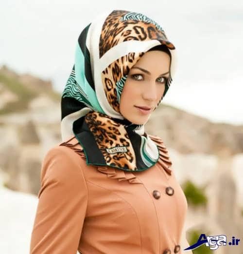 مدل های زیبا برای بستن روسری