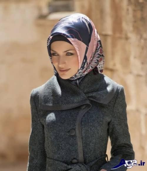 انواع مدل های زیبا و جدید بستن روسری