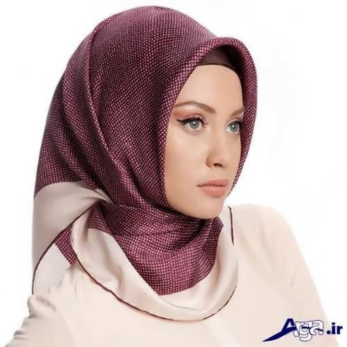 انواع مدل های بستن روسری با روش های مختلف