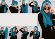 آموزش بستن شال و روسری با روش های جالب