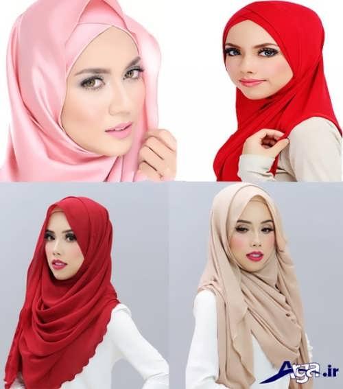 آموزش بستن شال و روسری با روش های زیبا و جذاب