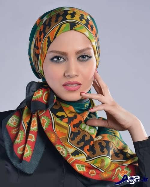 آموزش بستن شال و روسری با روش های مختلف و جدید