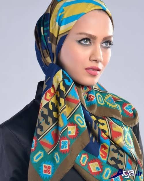 مدل زیبا برای بستن روسری