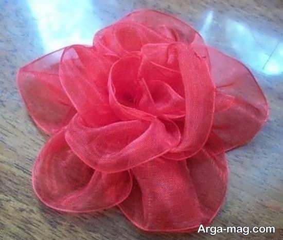 ایده های دوست داشتنی برای ساختن گل با روبان