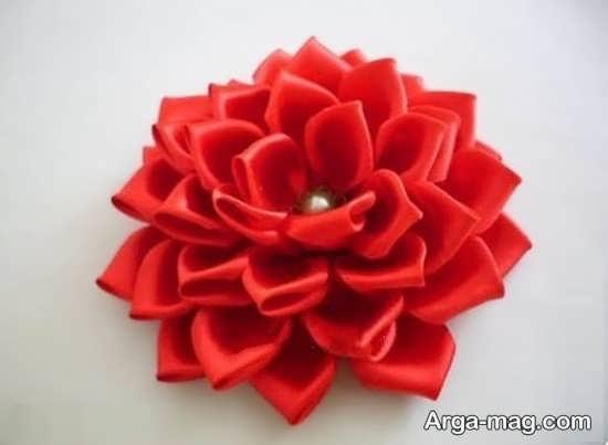 ایده های خواستنی برای ساختن گل با روبان