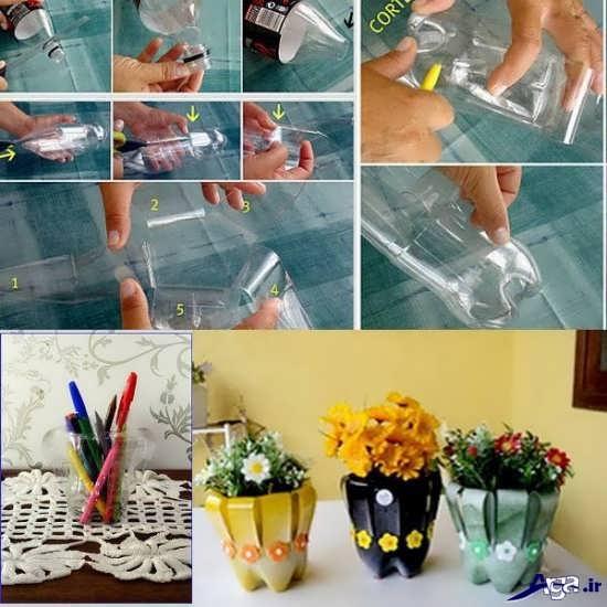 مراحل ساخت کاردستی گلدان