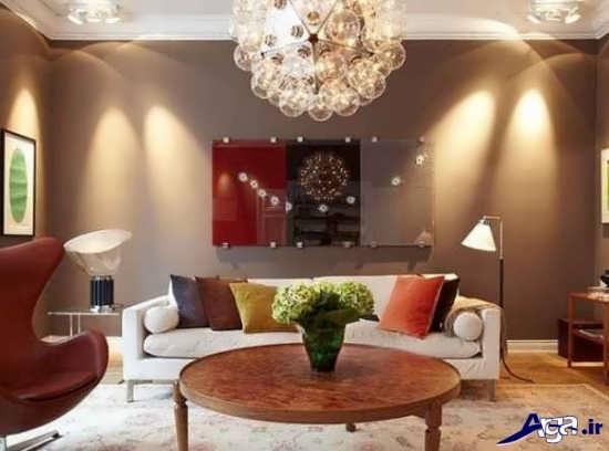 خلاقیت در تزیین اتاق پذیرایی منزل