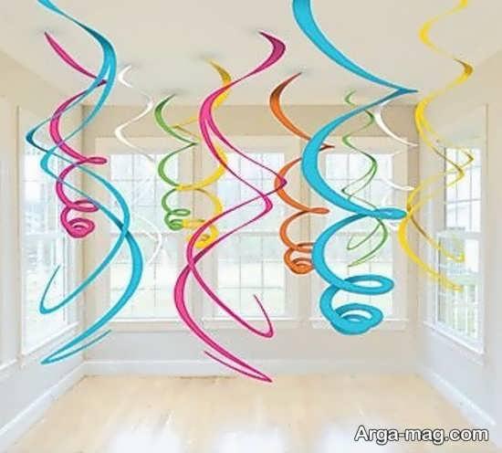 ایده خواستنی دیزاین تولد با کاغذ رنگی