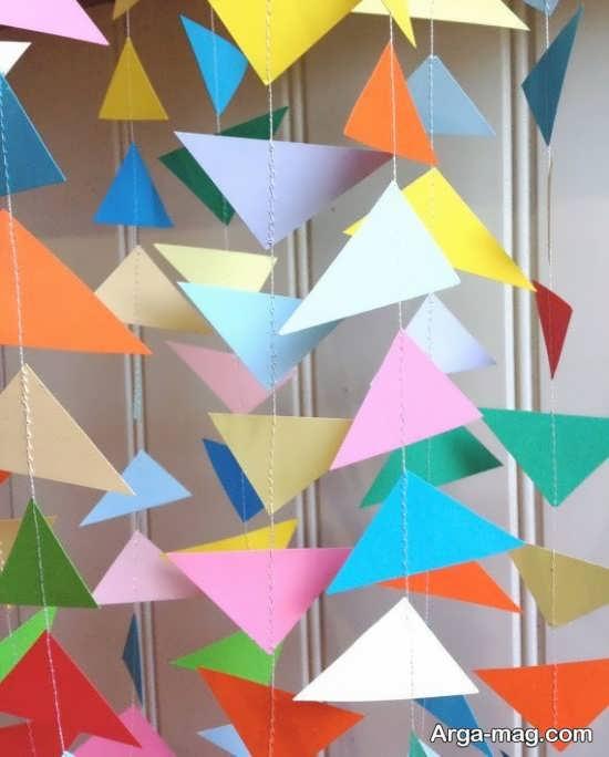 ایده هنرمندانه دیزاین تولد با کاغذ رنگی