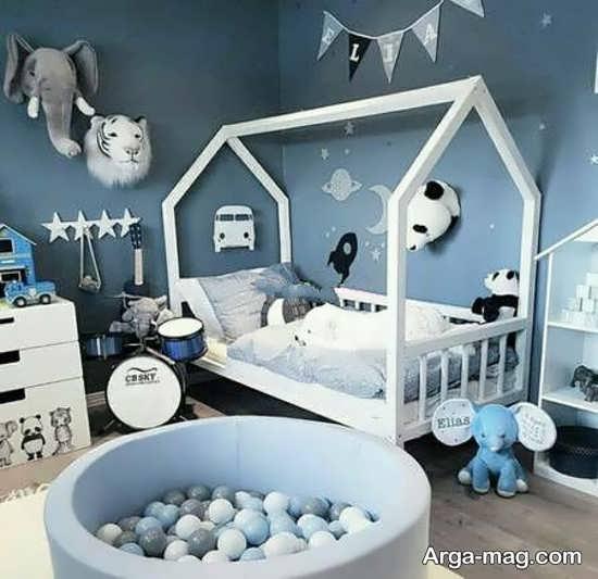 تزیینات جدید اتاق نوزاد پسر