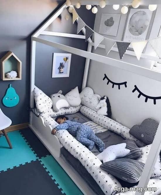 زیباترین تزیینات اتاق نوزاد پسر