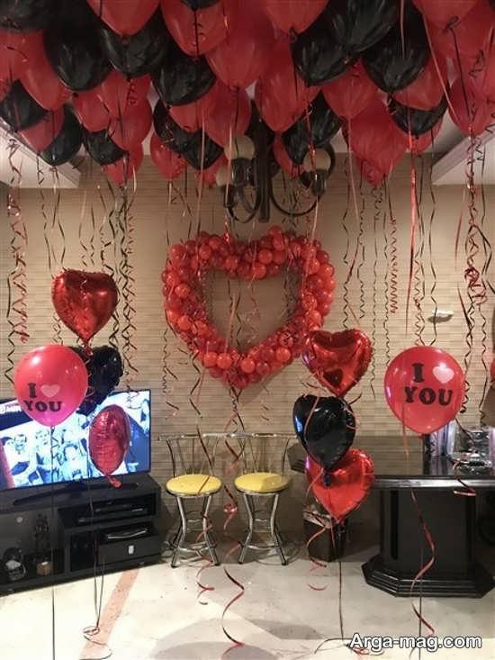 تزیین جدید خانه برای سالگرد ازدواج