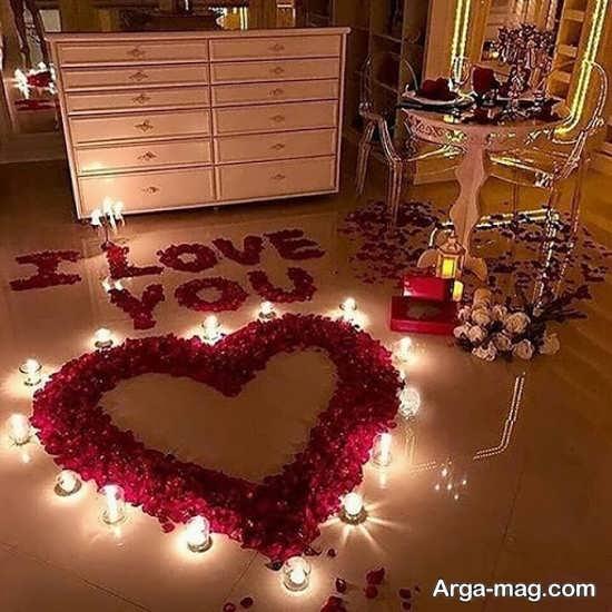 تزیینات جذاب خانه برای سالگرد ازدواج