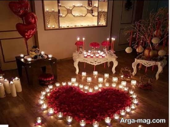 تزیینات زیبای خانه برای سالگرد ازدواج