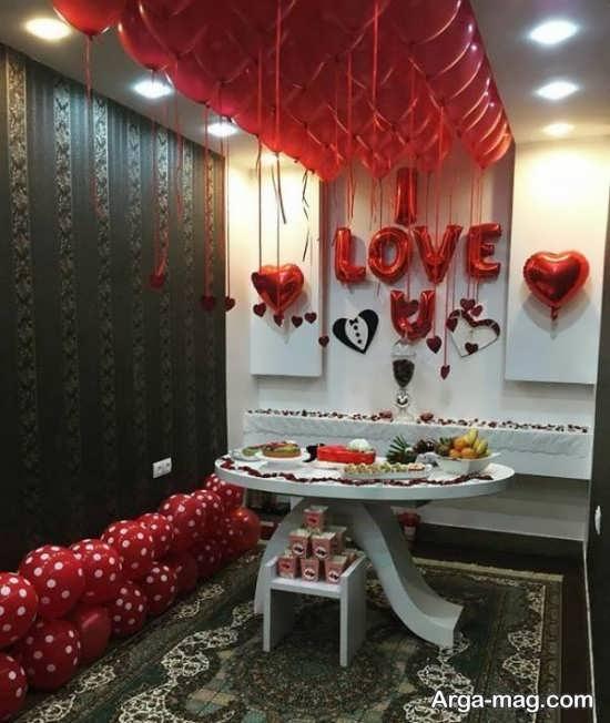 تزیینات خانه برای سالگرد ازدواج