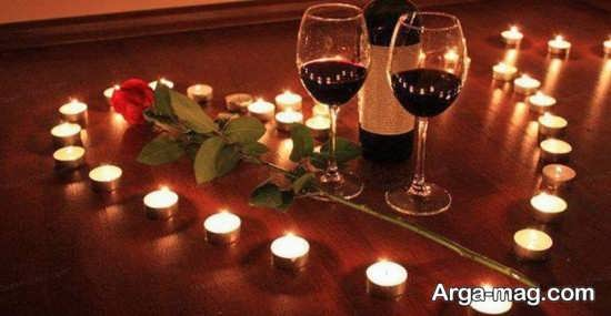 تصاویری از تزیینات منزل برای سالگرد ازدواج