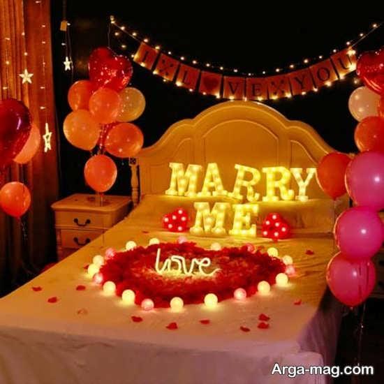 مدل تزیینات خانه برای سالگرد ازدواج