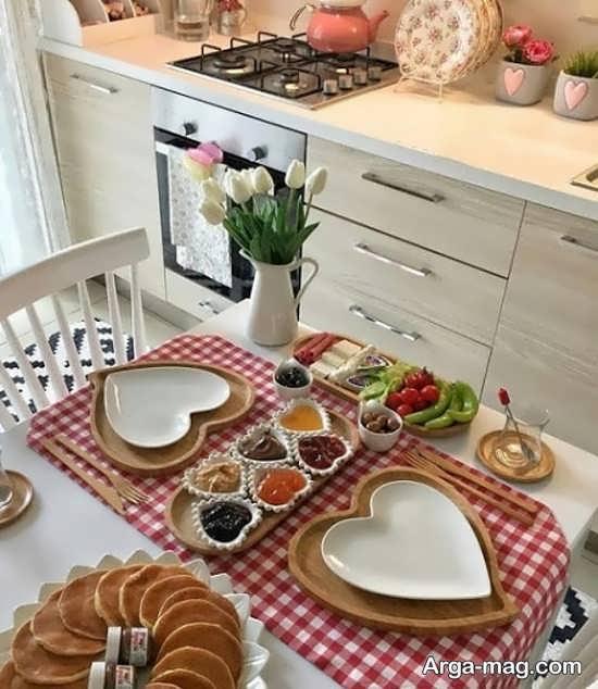 تزیینات میز غذا