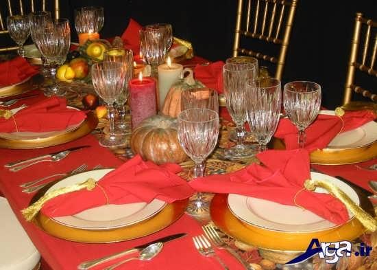 انواع تزیینات زیبا برای میز غذا