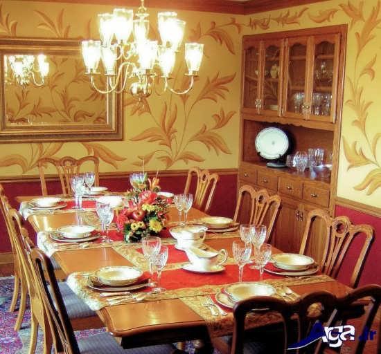تزیین میز غذا با کمک روش های خلاقانه و جالب