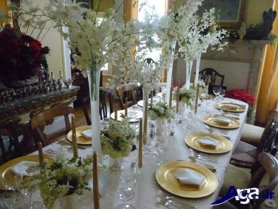 تزیین میز غذا با کمک ایده ها و روش های خلاقانه
