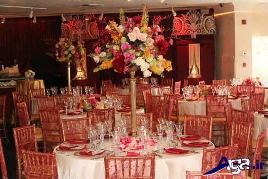 تزیین کردن میز غذا برای مهمانی ها