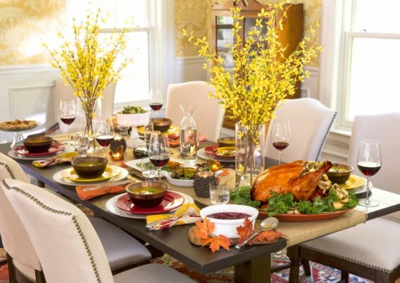 تزیین میز غذا به کمک ایده های خلاقانه