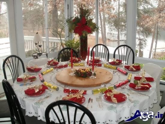تزیین میز غذا با روش های جالب و متفاوت