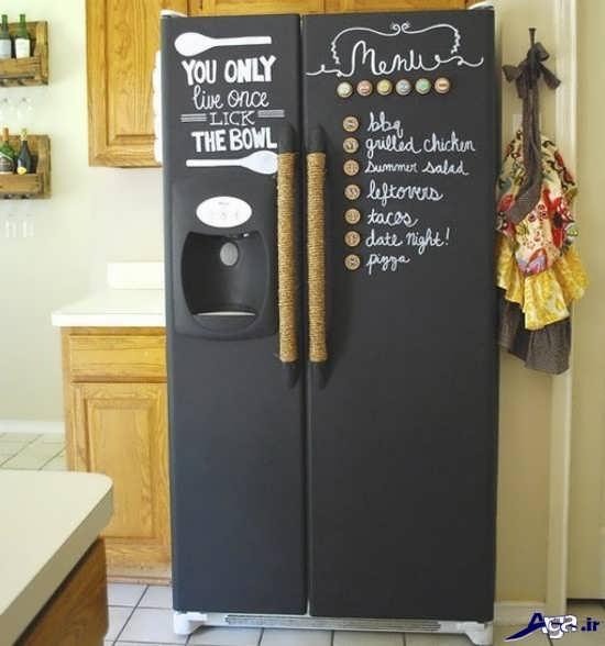 تزیین جالب درب یخچال