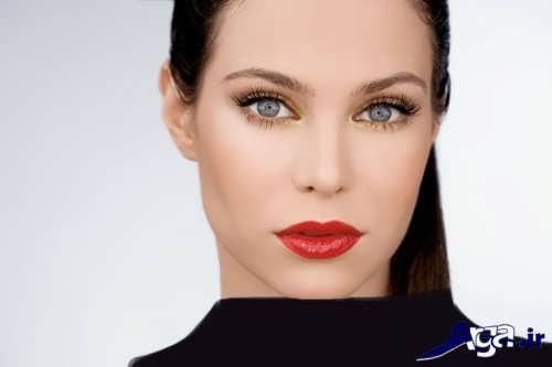 مدل آرایش زنانه به سبک اروپایی