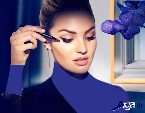مدل آرایش اروپایی زیبا و شیک