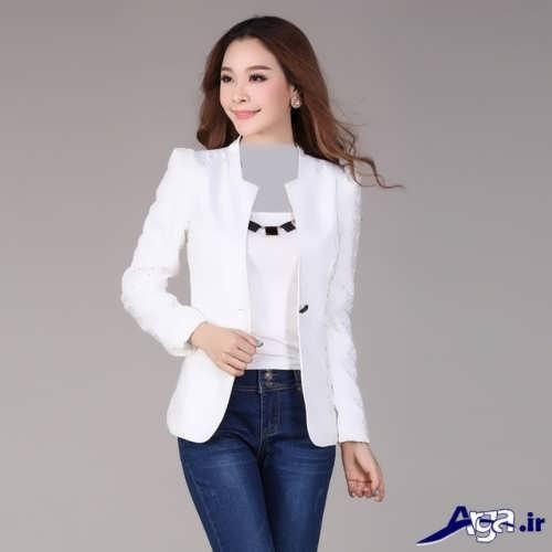 مدل کت سفید دخترانه