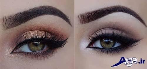 مدل چشم با آرایش لایت