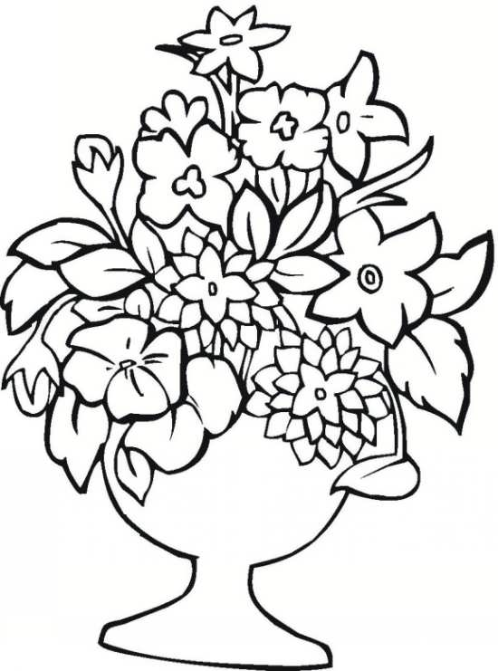 spring coloring pages detailed words - photo#25