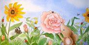 نقاشی گل برای کودکان با انواع رنگ آمیزی های زیبا و جدید